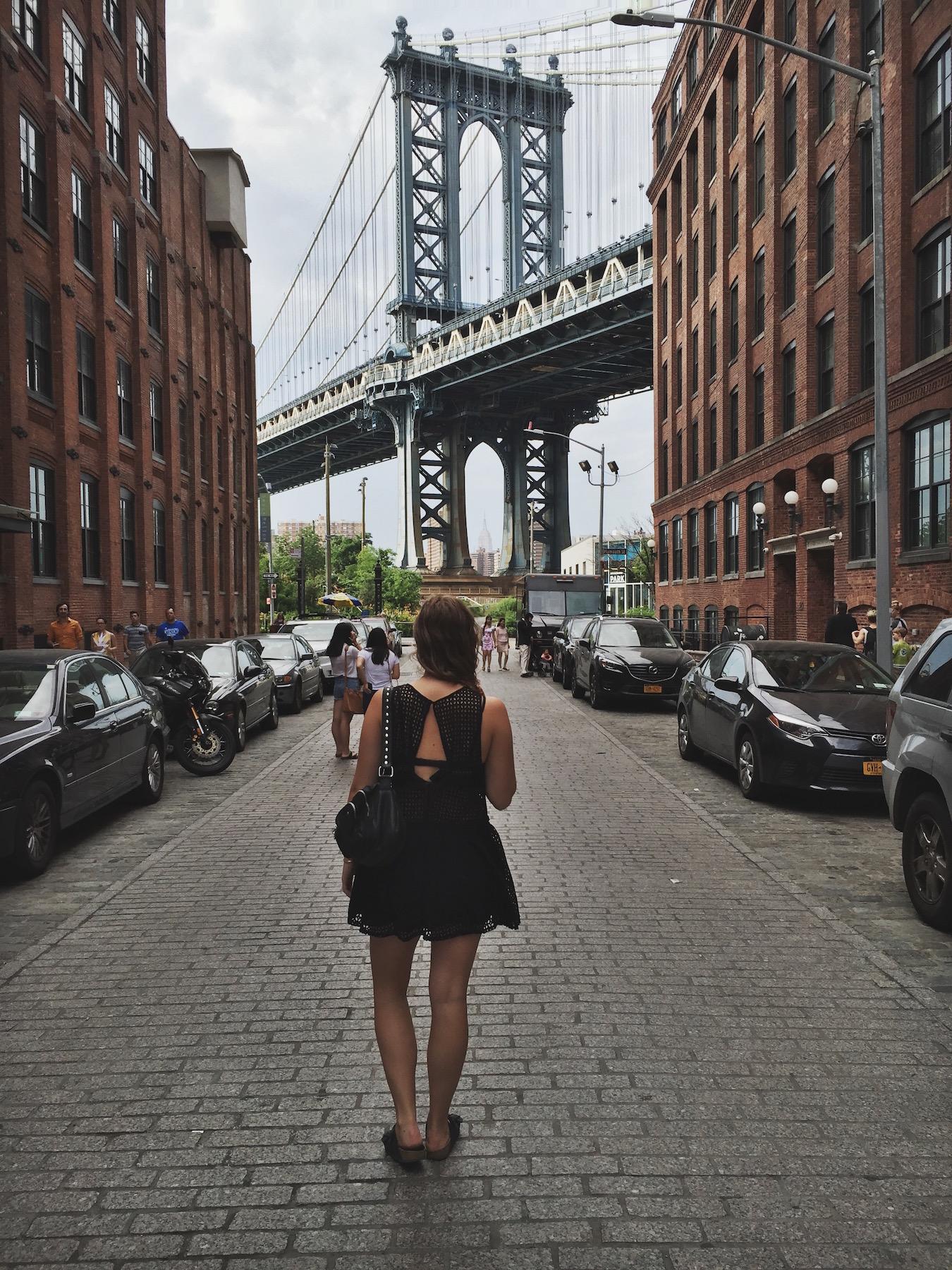 Caroline Sølver in NYC