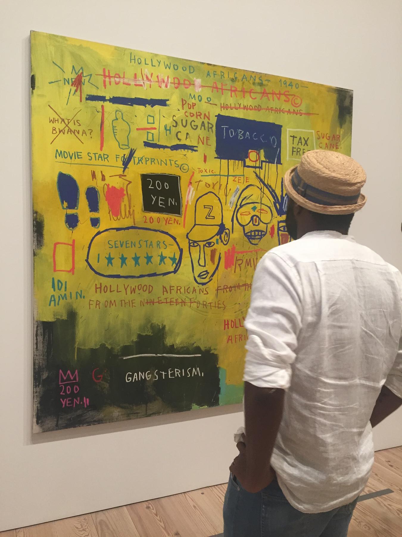 Basquiat the whitney