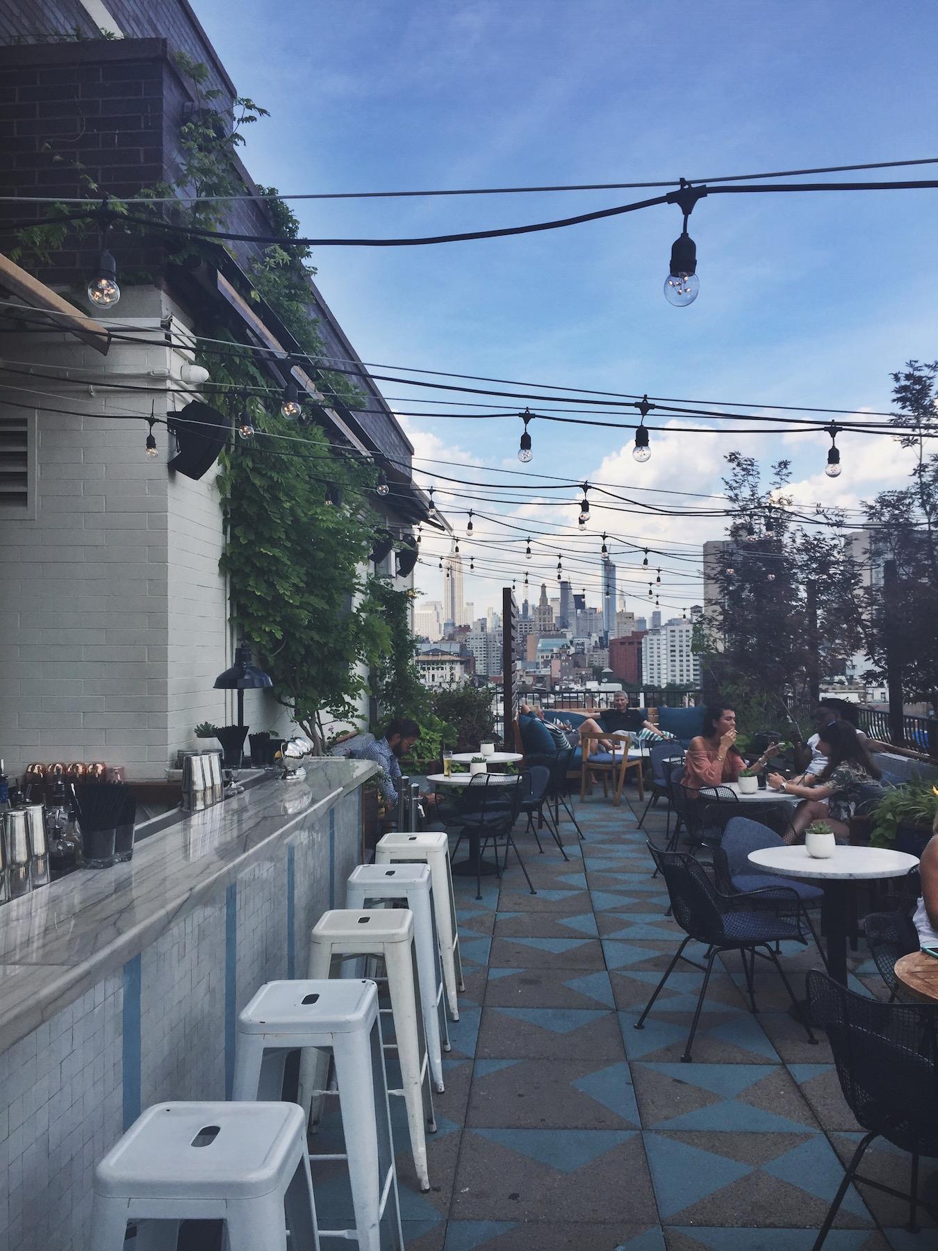 Sixty Soho rooftop