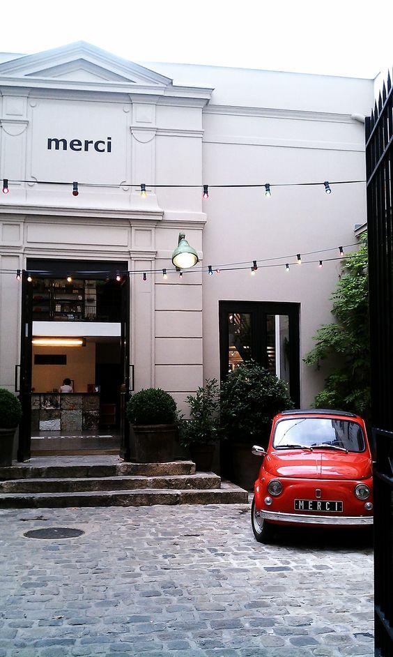 Merci concept store in Paris