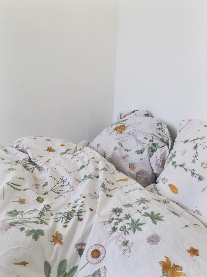 New apartment Scandinavian bed