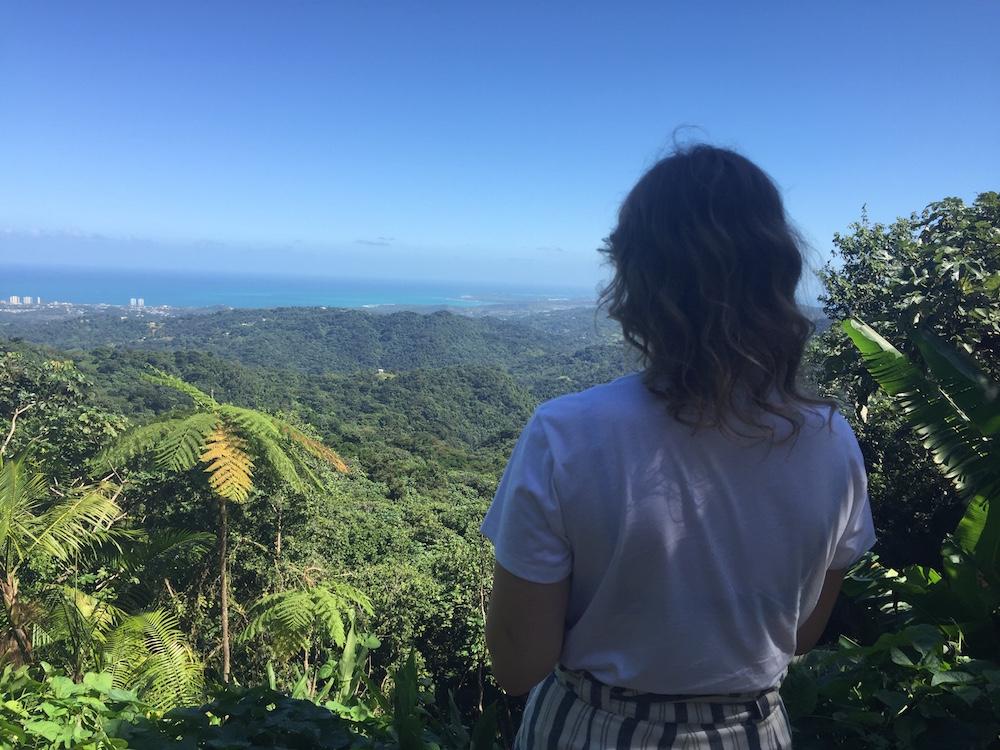 Caroline in Puerto Rico