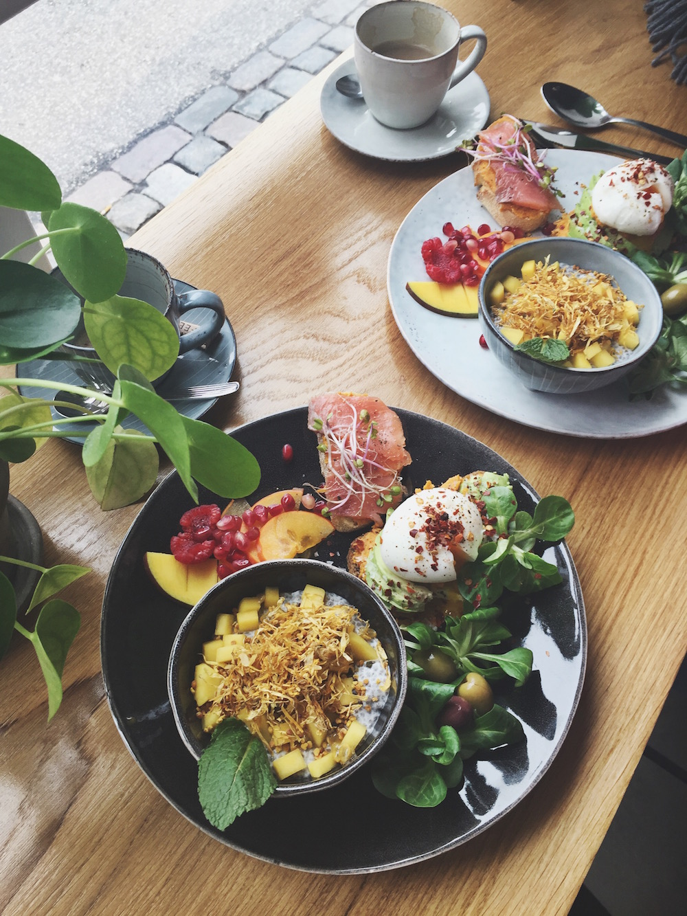 Cafe Baryl cheap good brunch in Copenhagen Instagrammable
