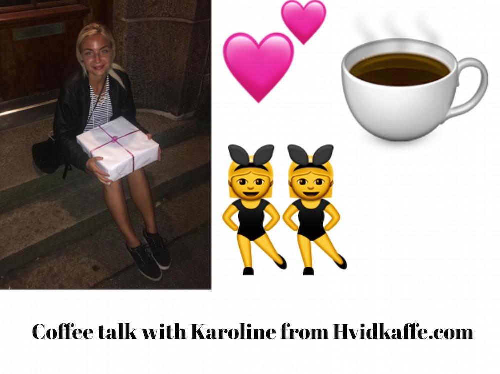 Interview med Karoline fra Hvid Kaffe