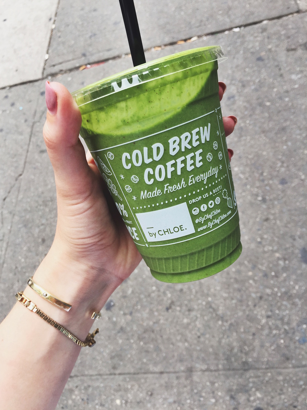 Green smoothie By Chloe in New York City