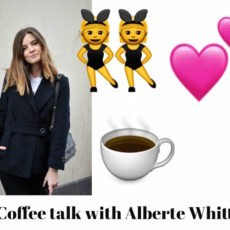 Interview and coffee talk with Alberte Whitta