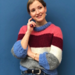 Knitting pattern for the must-have sweater of the spring
