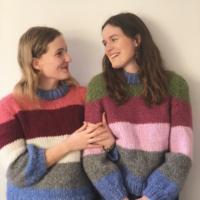 Strik ganni inspireret sweater