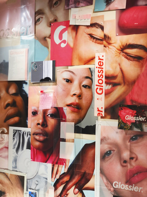 Glossier new flagship store