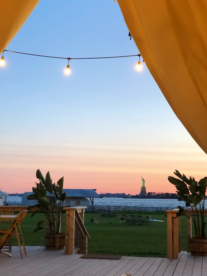 Governors Island Glamping