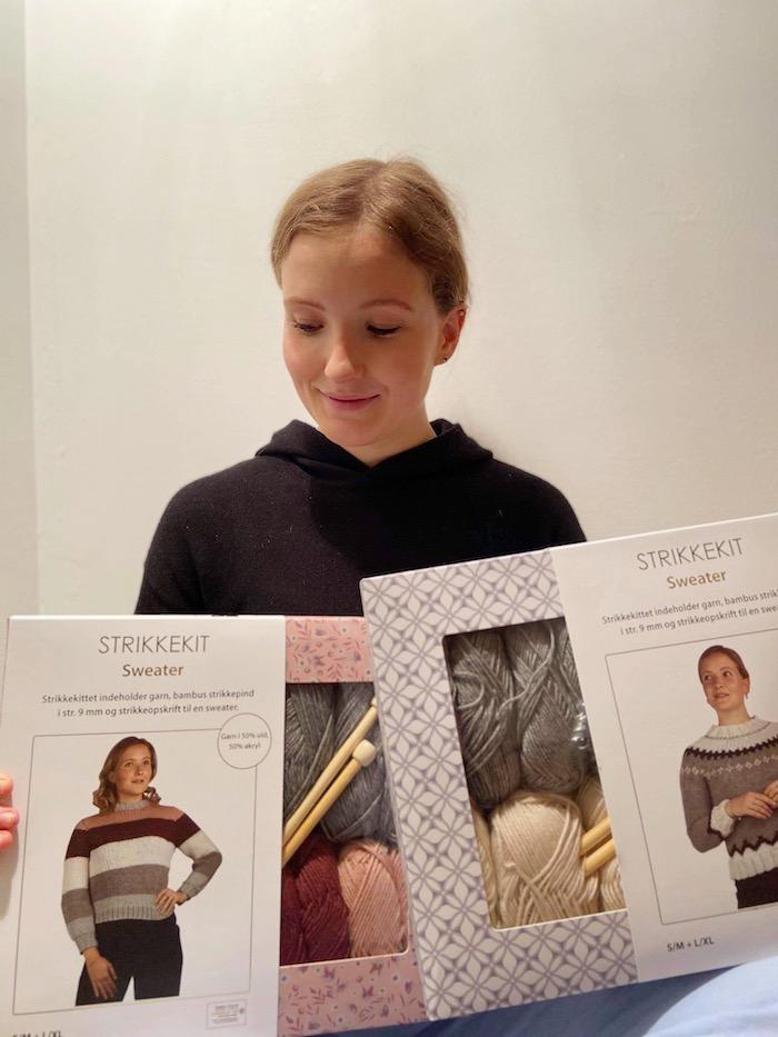My knit kit in Denmark